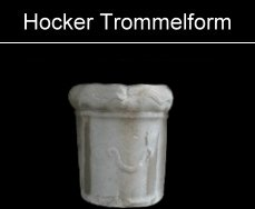 Hocker Trommelform